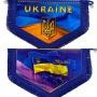 Вимпел в кабіну UKRAINE (пятикутник)