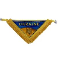Вимпел в кабіну UKRAINE (трикутник)