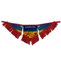 Вимпел в кабіну UKRAINE (фігурний трикутник)