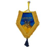 Вимпел в кабіну UKRAINE (ромб)