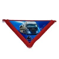 Вимпел в кабіну IVECO (великий трикутник)
