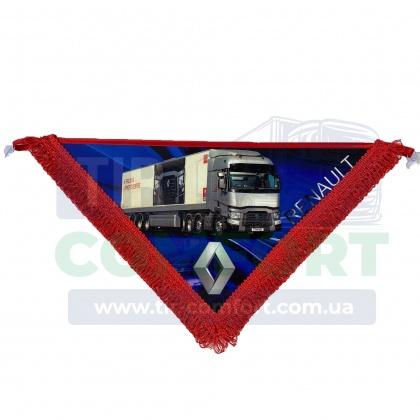Вимпел в кабіну RENAULT (великий трикутник)