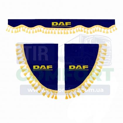 Ламбрекен и уголки DAF