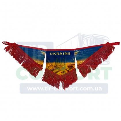UKRAINE фигурный треугольник